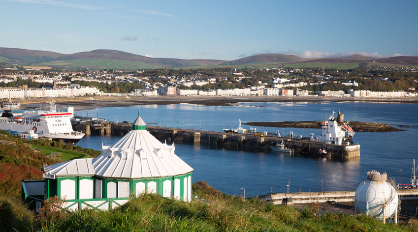 Harbour in Isle of Man